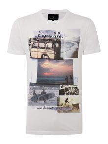 Photo Collage Graphic Tee