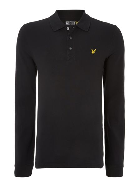 Lyle and Scott Regular fit classic long sleeve polo shirt