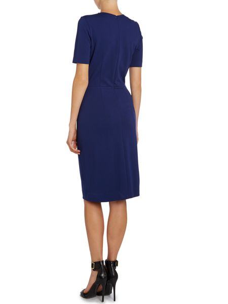 Paul Smith Black Label Shift dress with embellished collar