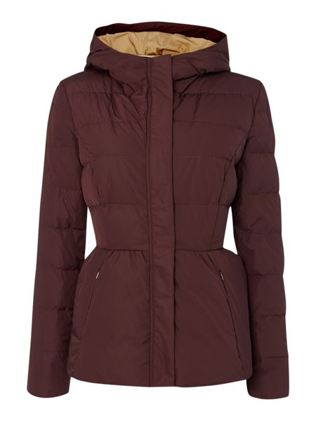 Sportmax Code Red hooded quilt jacket