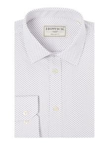 Howick Tailored Barnstead arrow print shirt