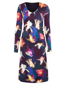 Paul Smith Black Label Floral jersey dress