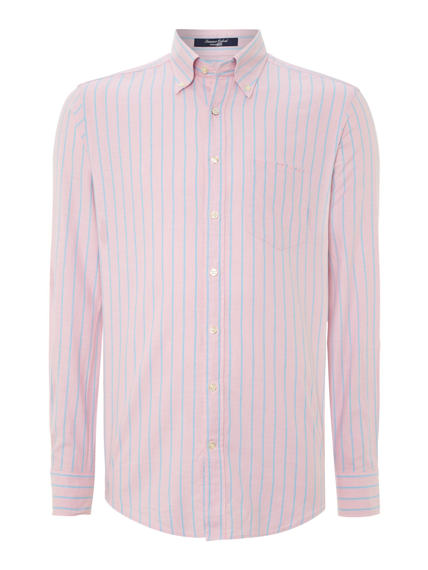 Long sleeve summer oxford shirt