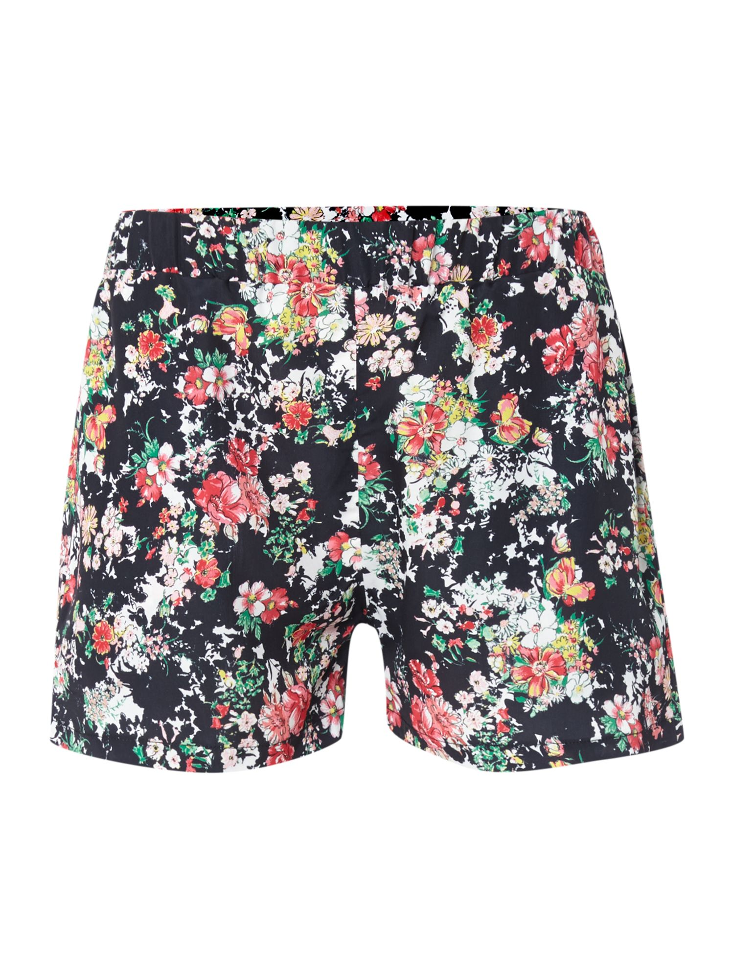 Mixed floral shorts