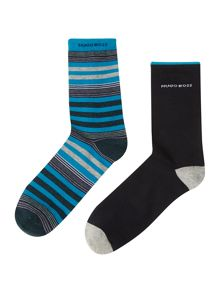 Boys set of 2 pairs of socks