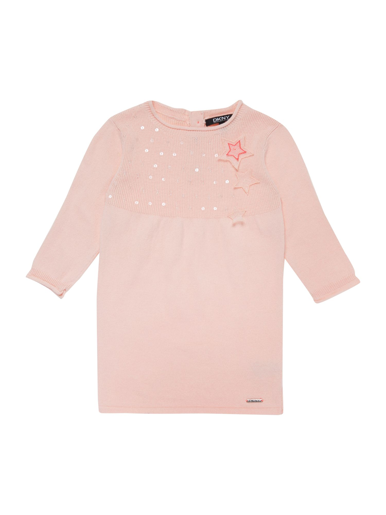 Baby girls knitted long sleeve dress
