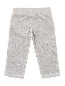 Baby girls terry velvet trousers