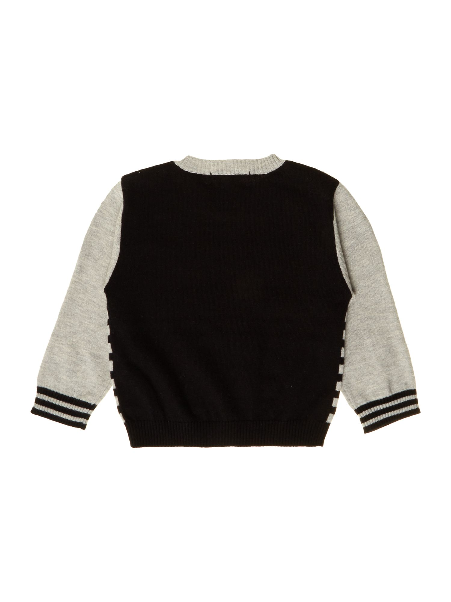 Baby boys knitted long sleeve sweater