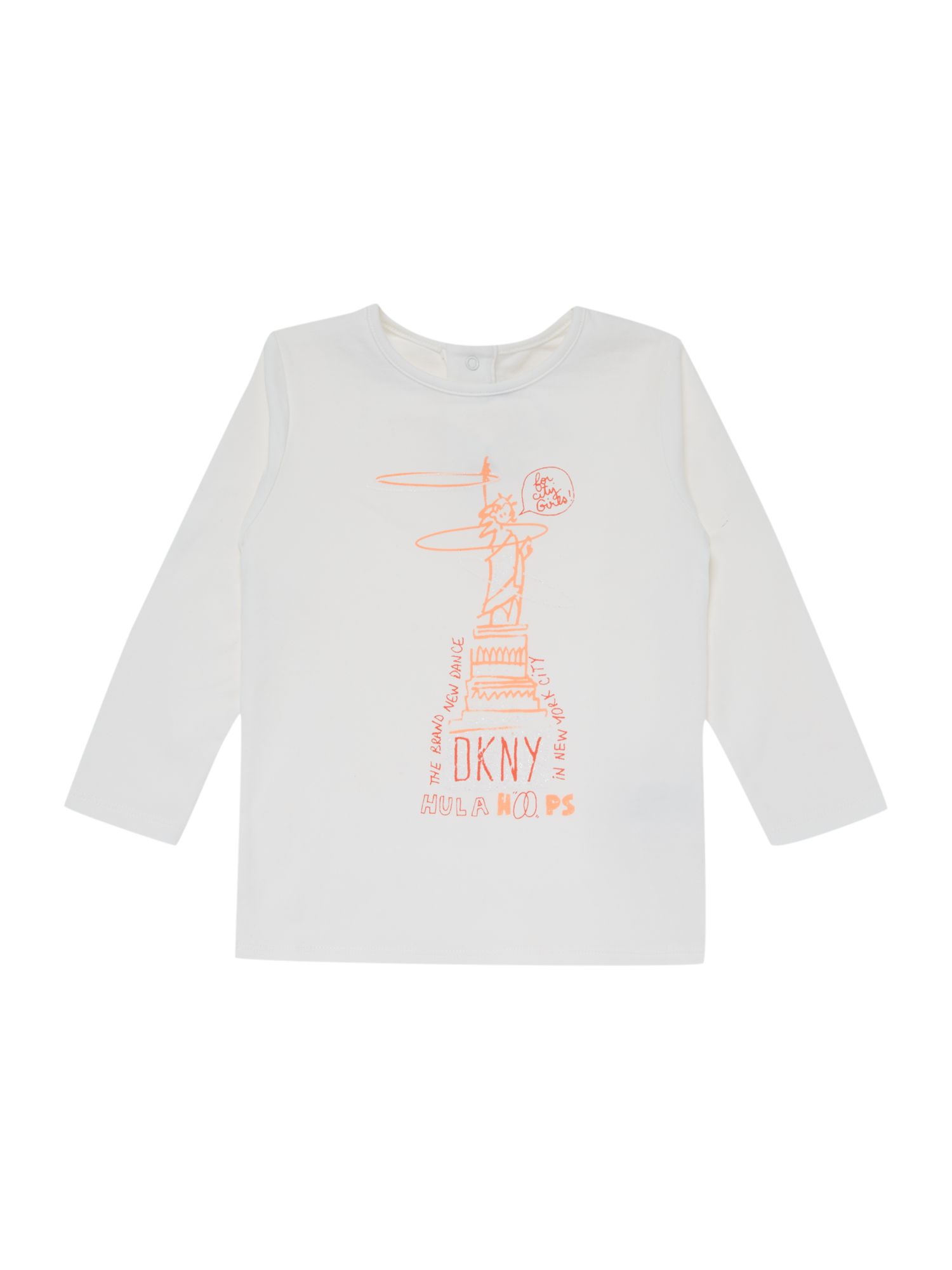 Girls jersey long sleeve t-shirt