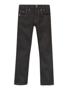 Boys coated denim jeans