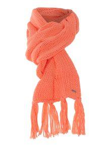 Girls knitted scarf
