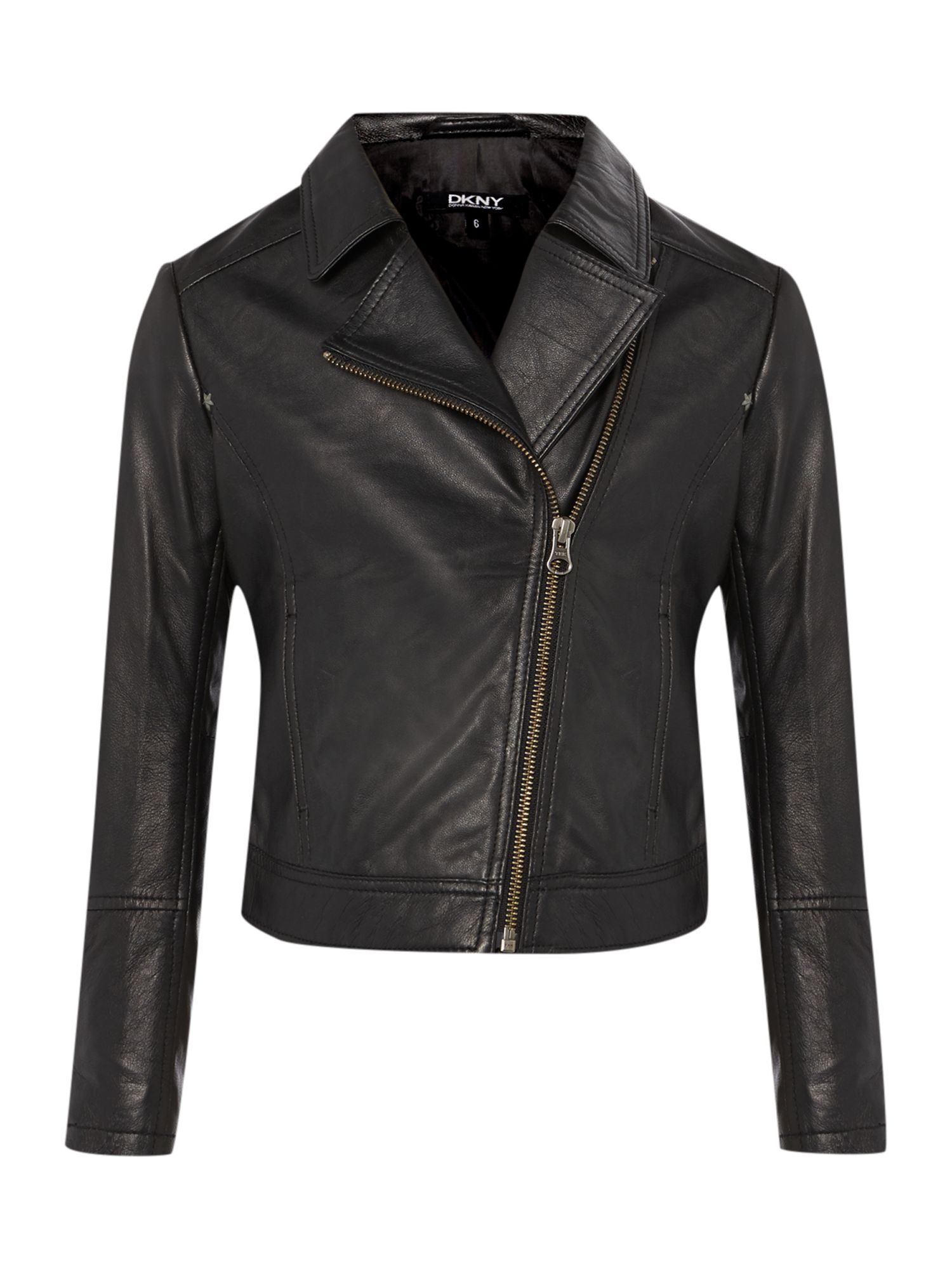 Girls leather perfecto jacket