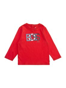 Baby boys jersey long sleeve t-shirt