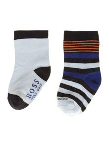 Baby boys set of 2 pairs of socks