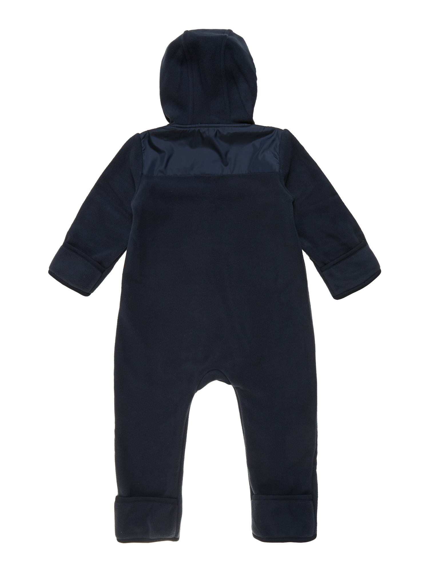 Boys two-coloured polar overalls
