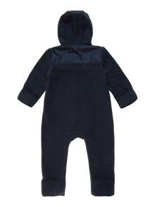 Baby boys two-coloured polar overalls