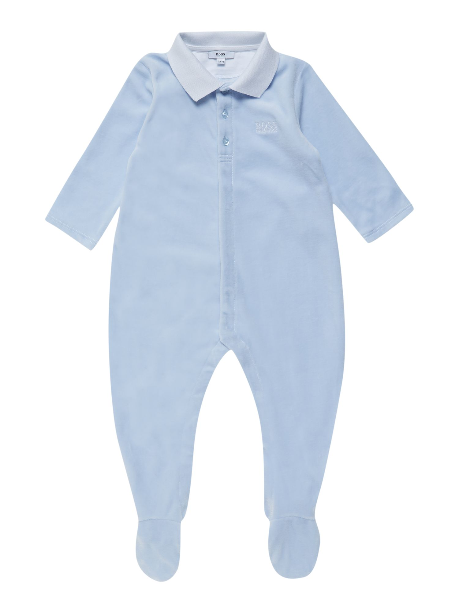 Boys terry velvet pyjamas