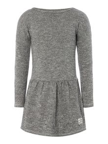 Girls fleece long sleeve dress
