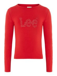 Lee Girls jersey long sleeve t-shirt