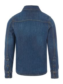 Boys denim long sleeve shirt