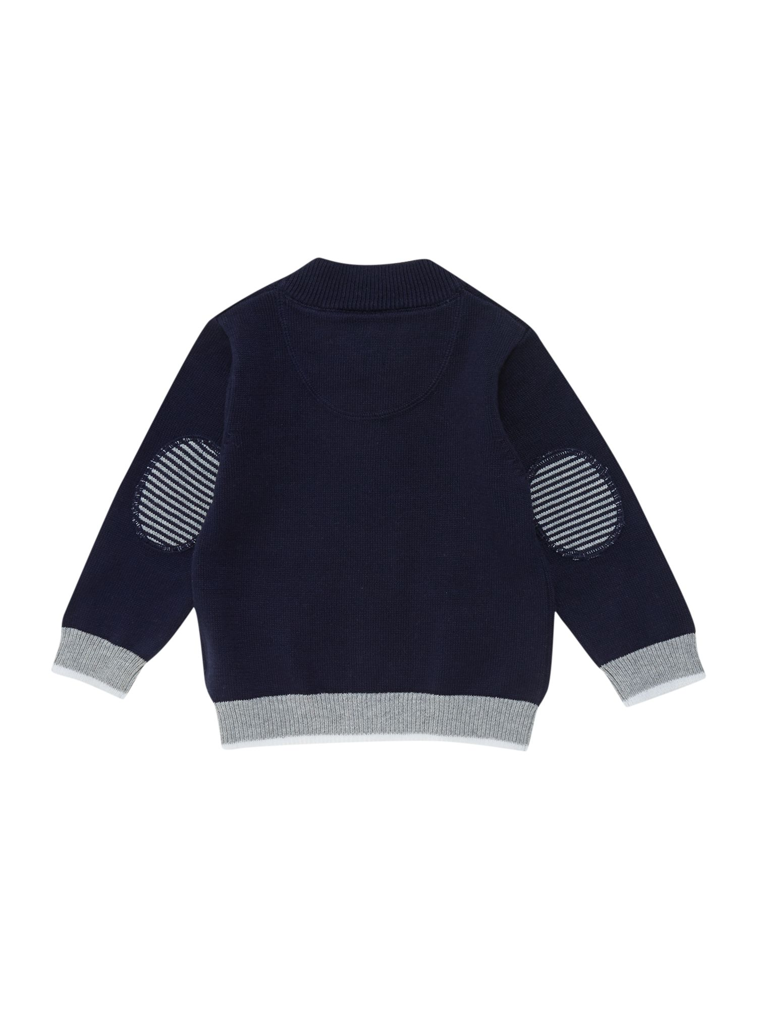Boys knitted long sleeve cardigan