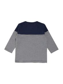 Baby boys jersey striped long sleeve t-shirt