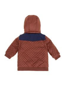 Baby boys removable sleeve jacket