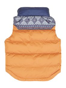 Baby boys sleeveless down jacket