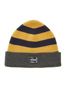 Boys knitted striped hat