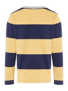 Boys jersey striped long sleeve t-shirt