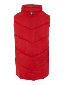 Boys sleeveless down jacket