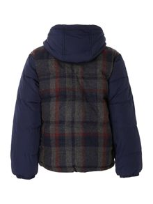 Boys woolen down jacket