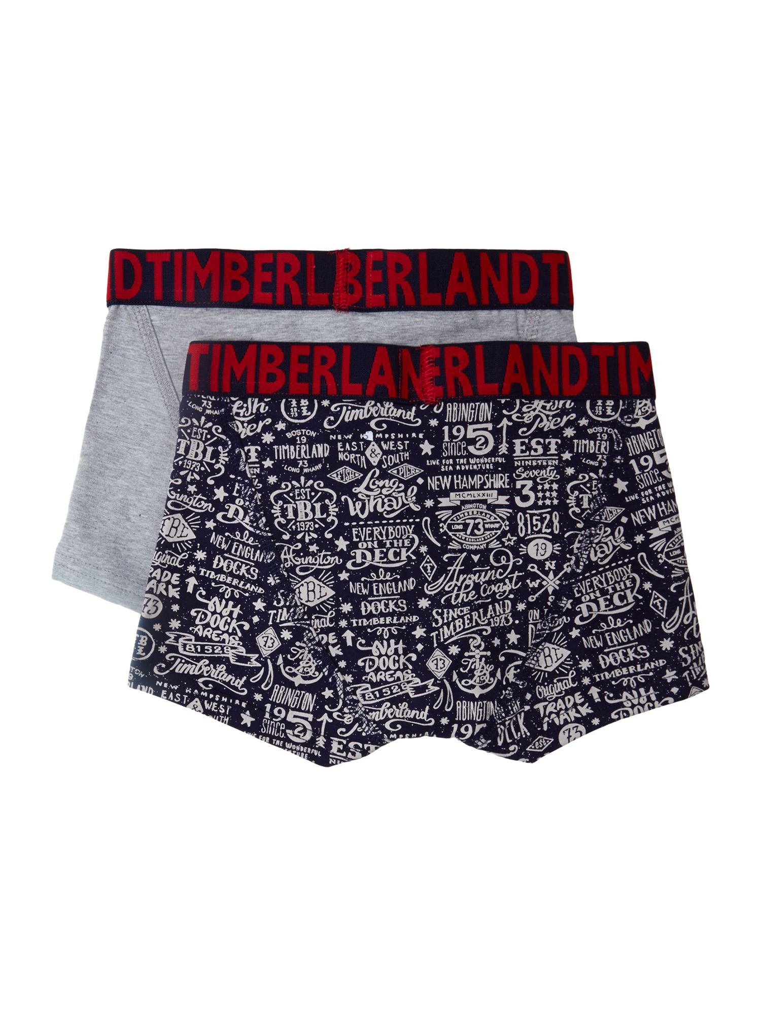 Boys set of 2 jersey boxer shorts