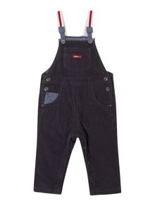 Baby boys corduroy dungarees