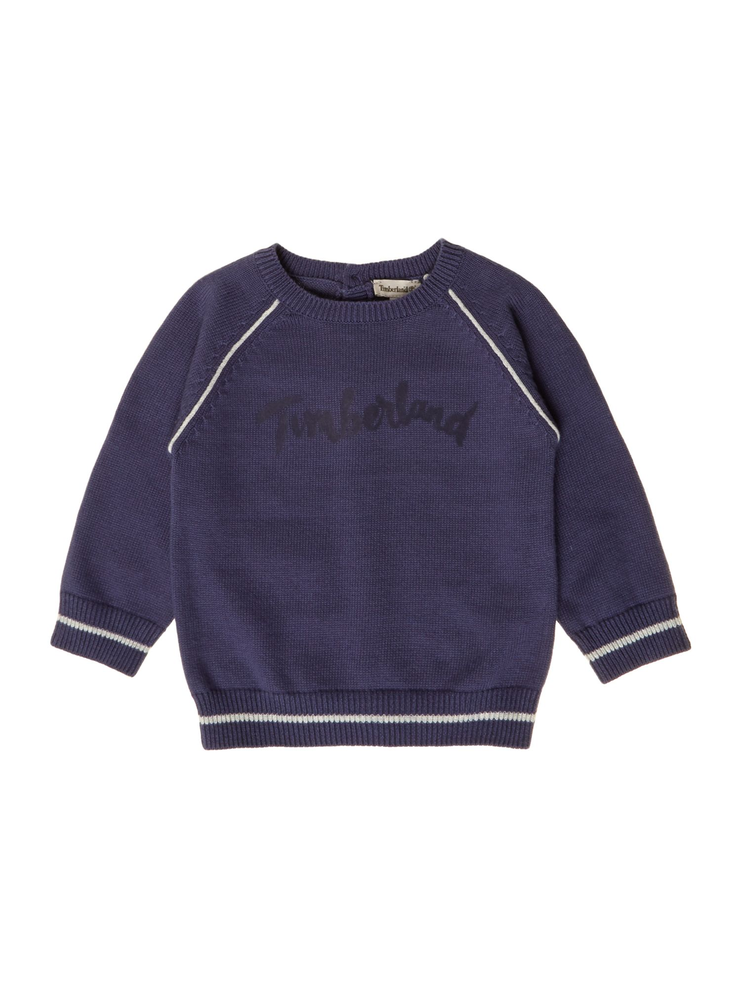 Boys knitted long sleeve sweater