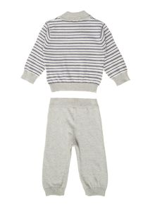 Baby boys knitted tracksuit
