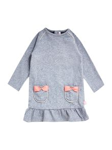 Baby girls cotton long sleeve dress