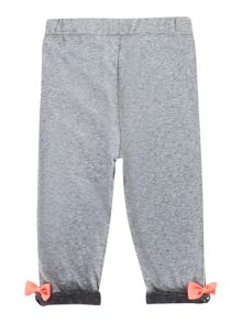 Baby girls cotton trousers