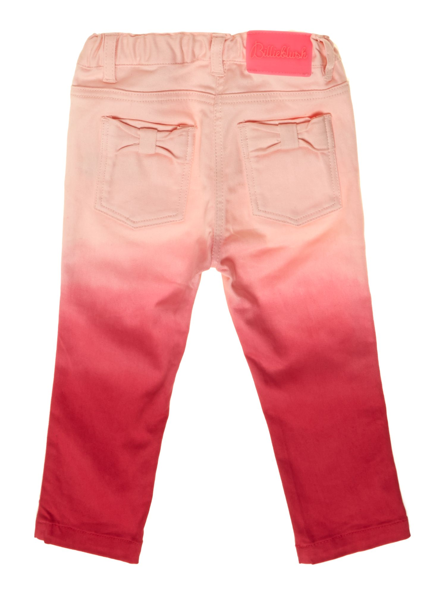 Baby girls drill trousers
