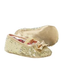 Girls sequins ballerinas