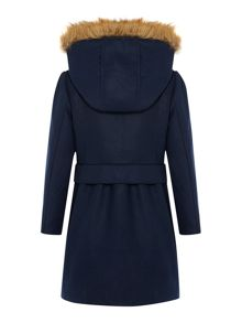 Girls woolen coat