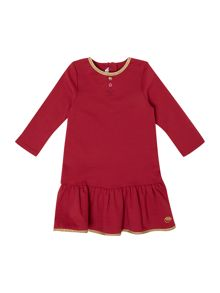 Baby girls milano long sleeve dress