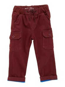 Baby boys drill trousers