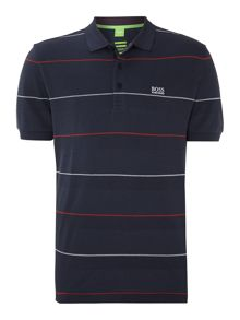 Striped paddy polo shirt