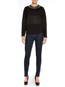 Paul Smith Black Label Embellished sweatshirt