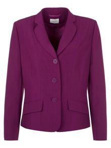 Magenta button jacket