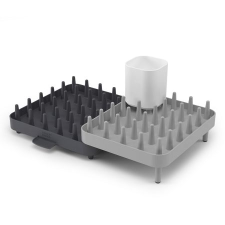 Joseph Joseph 3-Piece Connect Adjustable Dishrack - Grey