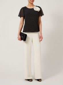 Soft crepe trouser