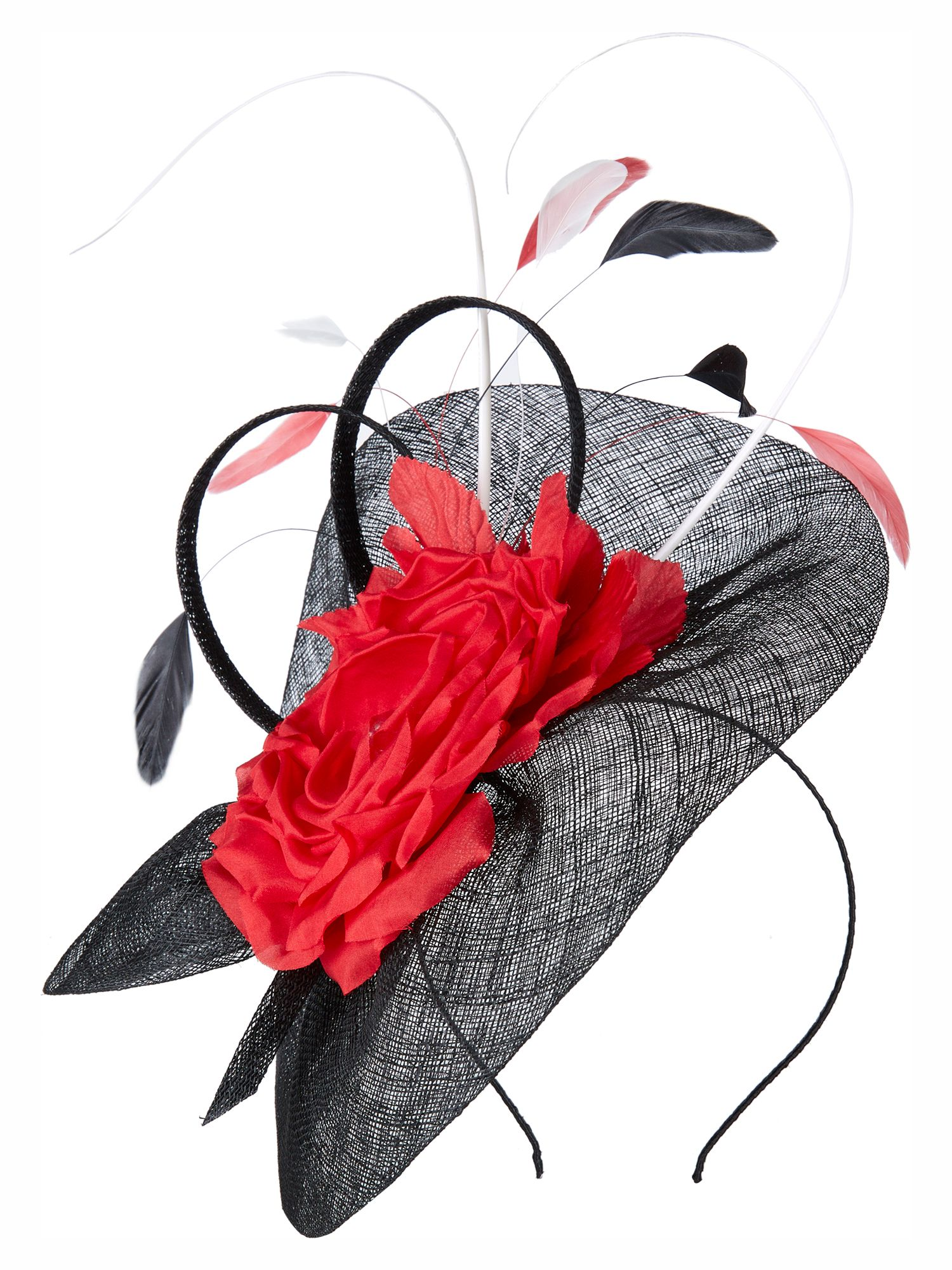 Three colour fascinator