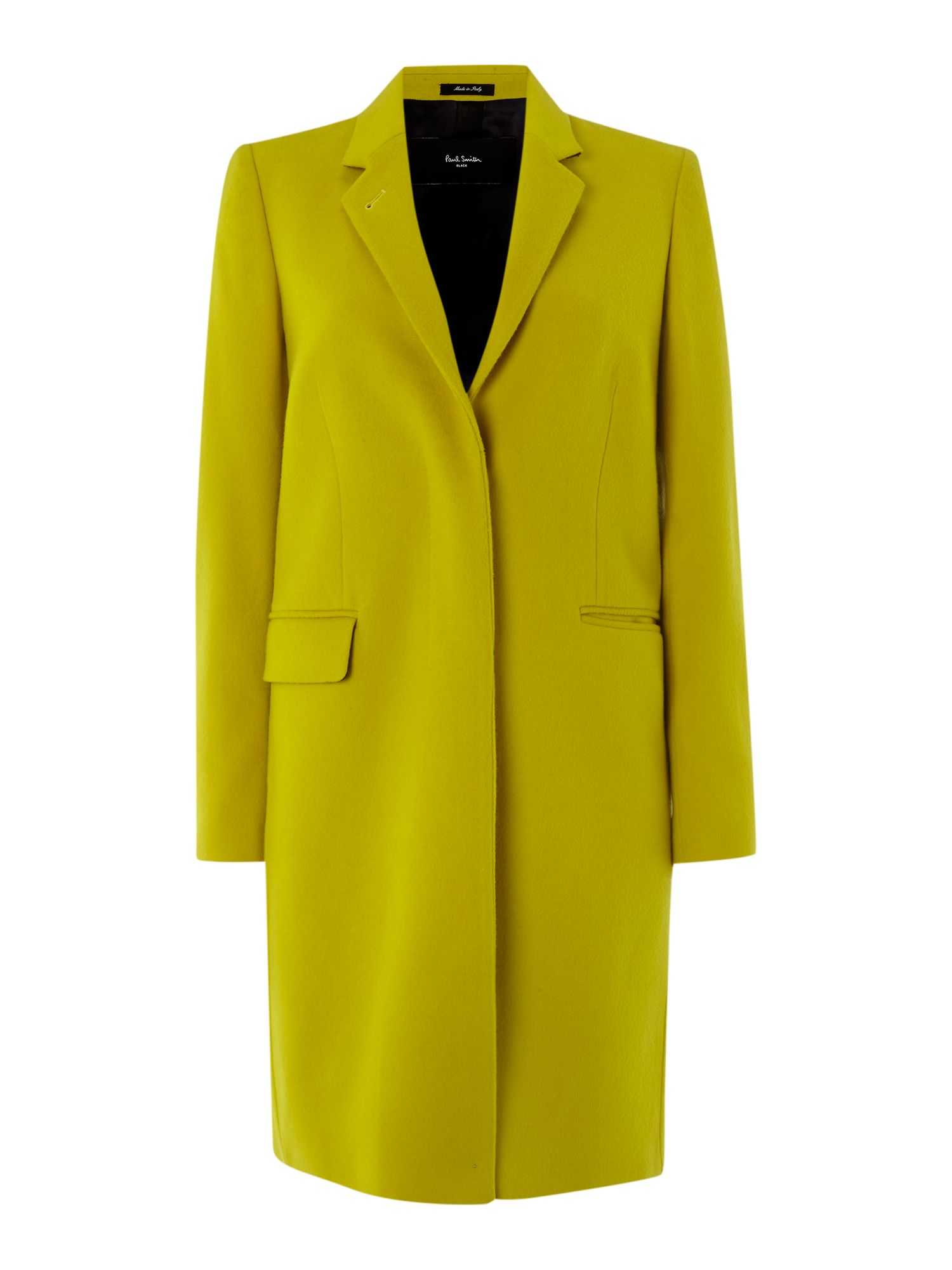 Two button wool coat